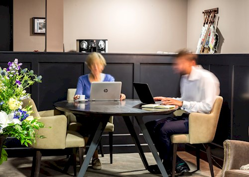 The Cannon Lounge, perfect for work, rest or play