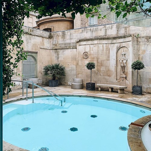 Bath's Thermae Spa pool